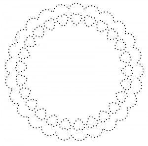 Paper Pricking Pattern