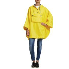 Cape Cire Petit Bateau Jaune Femme #ciré #pluie #Jaune #Femme
