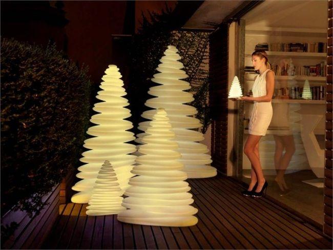 Ideal Weihnachtsbaum Dekoration RGB LED Leuchten Chrismy