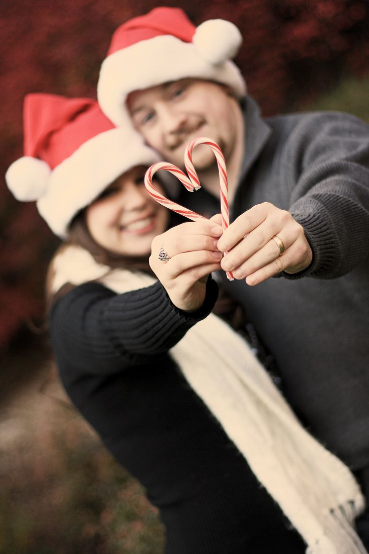 Couple Christmas  Photo Idea. This is the photo my Beloved and I will for this Holiday season.