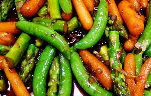 Balsamic Sauteed Vegetables
