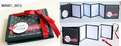 Cartões e Tags de Natal e Mini Álbuns decorados {pronta entrega} 2013