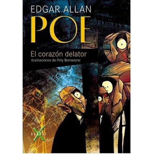 """Día 21. Uno de cuentos. EL corazón delator del gran Poe, un maestro del """"suspense"""". Al adentrarse en la historia, uno se puede identificar con el protagonista, incluso alcanzar cierto agobio y estrés bien desarrollado por el desgraciado autor."""
