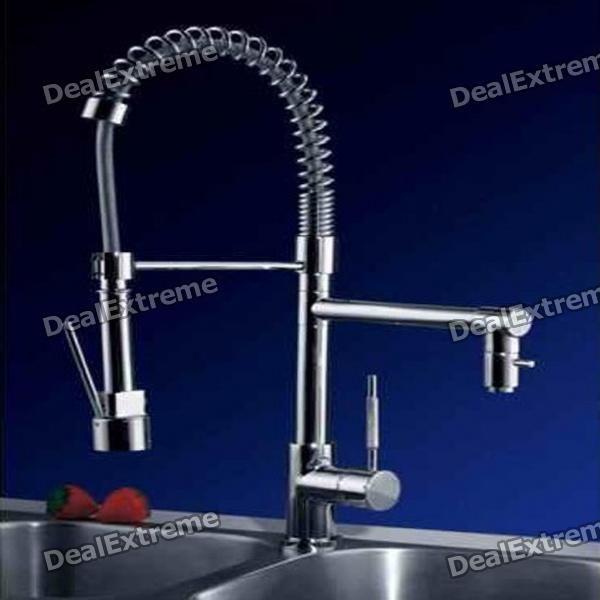 Modern Copper Tap Faucet Set  Silver  Kitchen  Pinterest