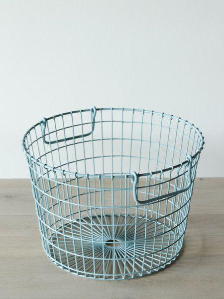 Potato Basket in light blue