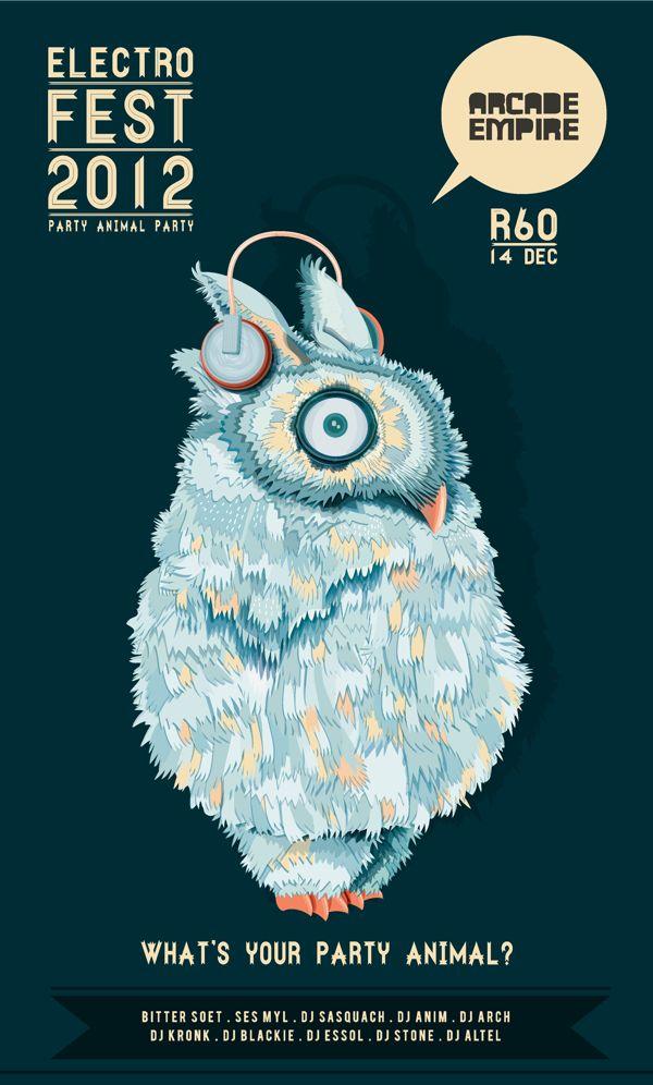 "Louwrens Venter ""Electro Fest 2012"""