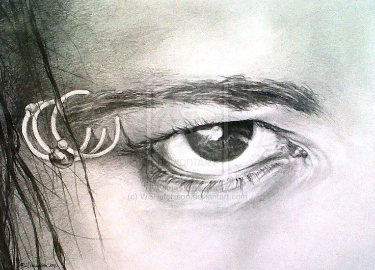 Jonathan Davis, Alone eye Study by WSHutchison.deviantart.com on @deviantART