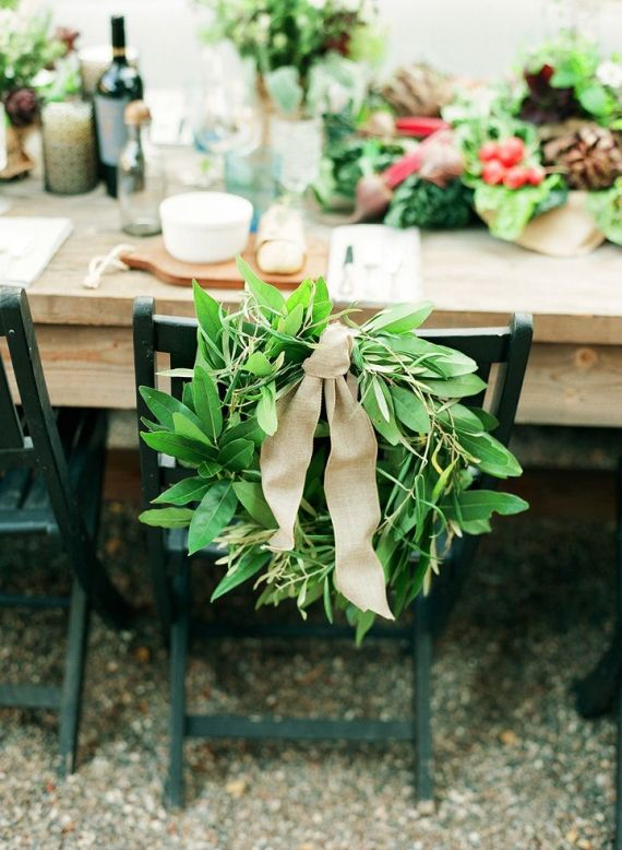 289 best chair details images on pinterest creative wedding use this chair wreath to decorate the backs of the bride and groom chairs at the diy chairdinner partieswedding junglespirit Image collections