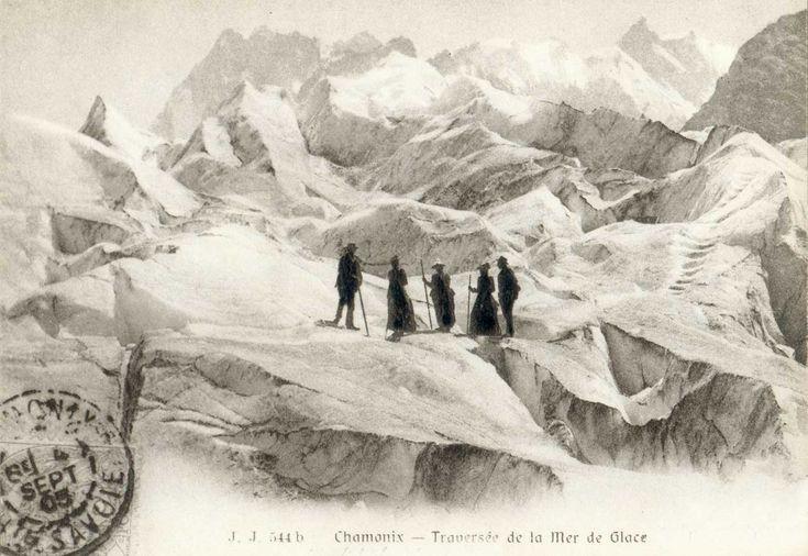Chamonix - Traversée de la Mer de Glace