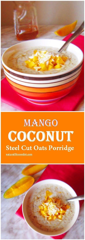 Coconut Mango Overnight Oatmeal Recipe — Dishmaps