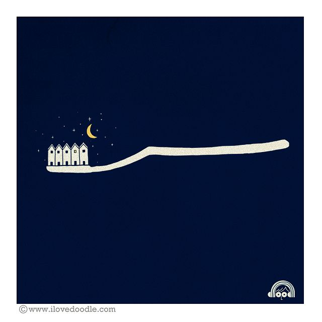 Brush your teeth before bed! No te olvides de lavarte los dientes antes de dormir! :D