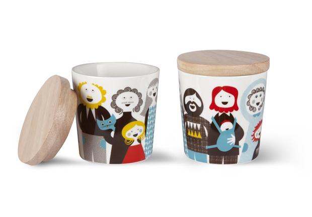 Cutii Isak create de Sandra Isaksson. http://moodboards.ro/lucruri-frumoase-pentru-acasa-facute-de-trolii-scandinavi/