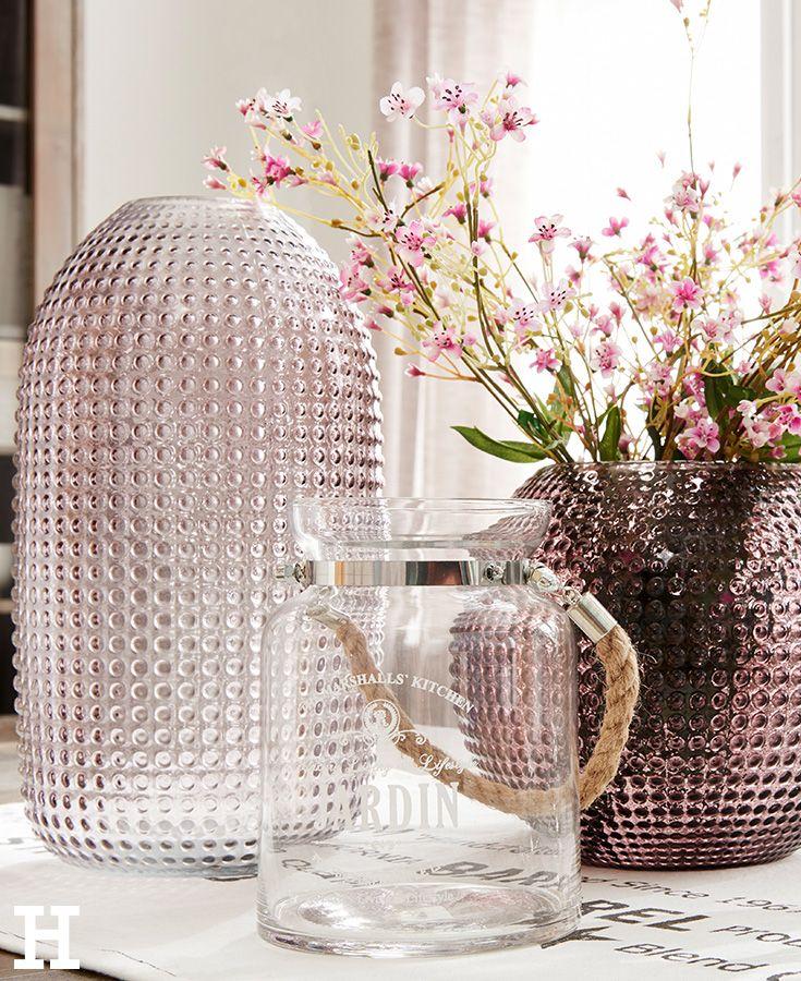 Tolle Vase In Einem Leichten Altrosa. Passt Perfekt Zum Landhausstil Und  Bringt Frische Blumen Optimal