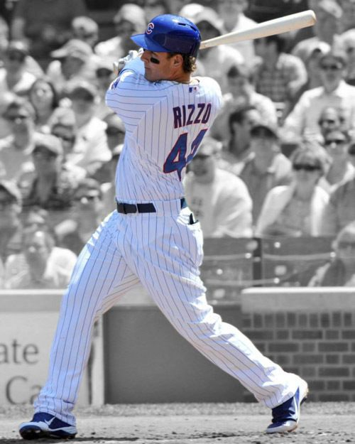 Chicago Cubs ANTHONY RIZZO Glossy 8x10 Photo Baseball Print Spotlight Poster #ChicagoCubs