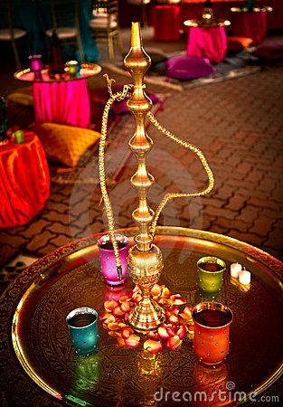 Hookah bar at wedding. obviously Please visit http://hookah-experience.tumblr.com