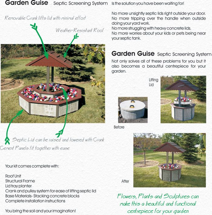 22 best septic tank disguises images on pinterest backyard ideas garden ideas and gardening