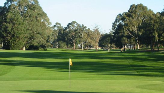 Discover one of Victoria's most popular public access golf courses, the beautiful Amstel Park Golf Course! Enjoy 18 holes for two in a shared motorised cart. Normally $104, today just $59! #golf #golfvic