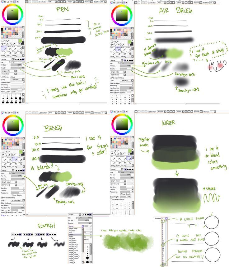 how to makw brush look like paint photoshop