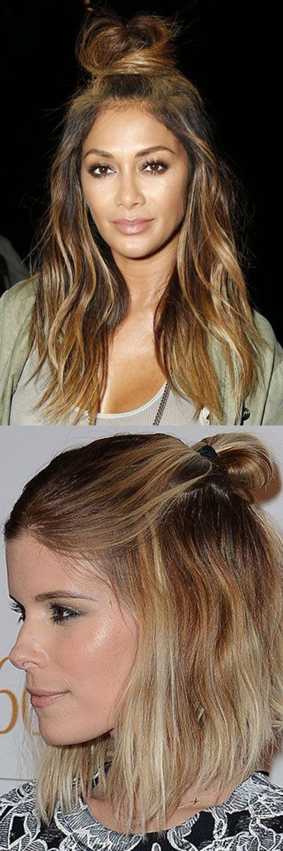 Hun Hair Hairstyle Bun Hairstyles Trend Hairstyles