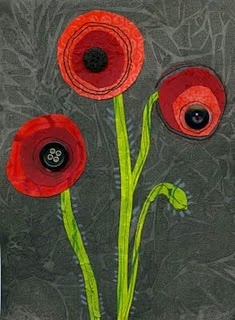 poppies - adapt for Remembrance day project?