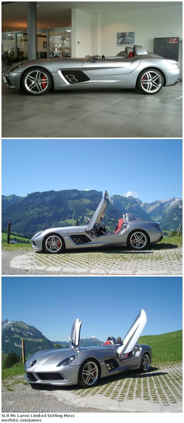 SLR Mc Laren Limited Stirling Moss