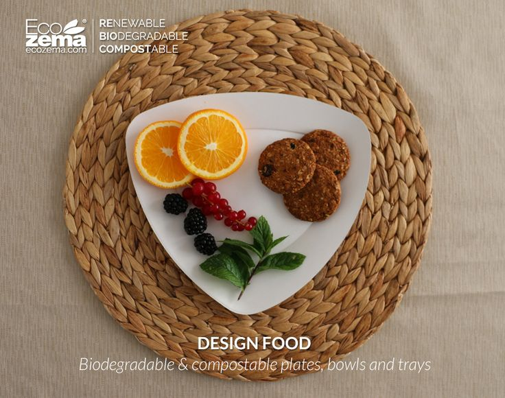 biodegradable and compostable tableware by Ecozema - Respecting the environment does not imply giving up appealing product aesthetics.  #green #tableware #disposable #monouso #compostabile #design #recycle #reuse #reduce #stoviglie #ecofriendly #piatti #plates #biodegradabile #vassoi #trays #compostable #biodegradable #ecozema