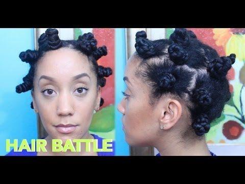▶ Twisted vs Regular Bantu Knots - YouTube