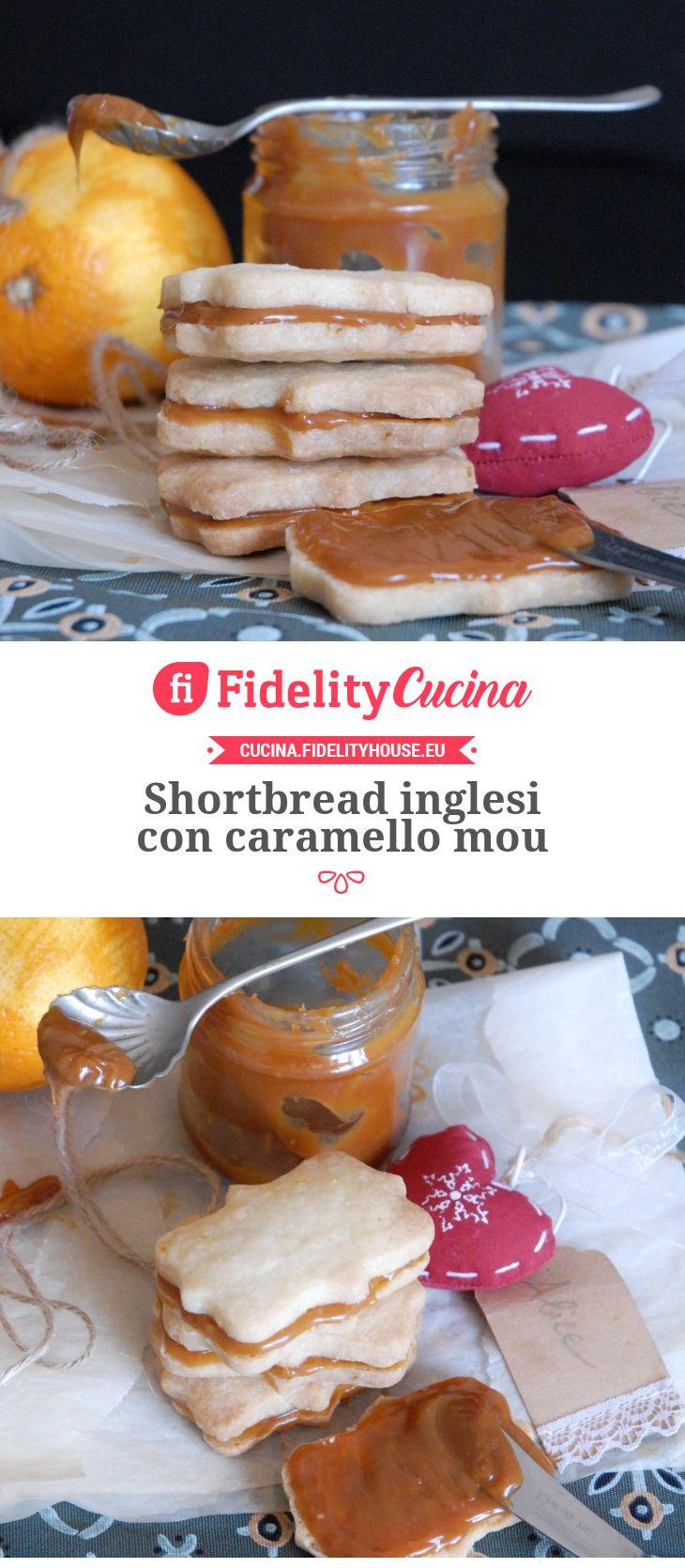 Shortbread inglesi con caramello mou