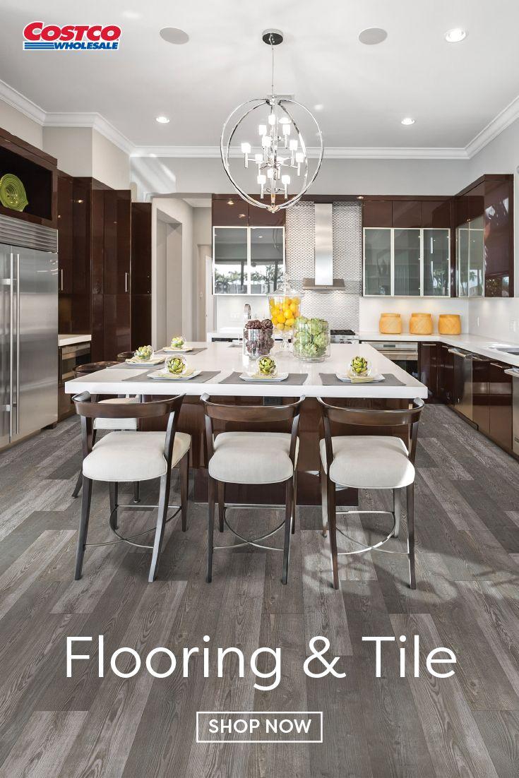 Mohawk Home Harmony Pine Laminate Flooring 10 mm Thick