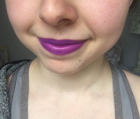 NYX High Voltage Lipstick in Twisted
