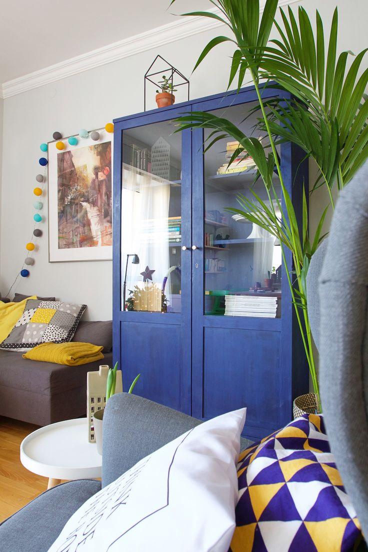 Wnętrza Zewnętrza - blog wnętrzarski: Niebieska szafa