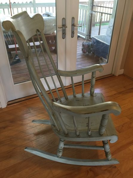 Rocking Chair Makeover In 2019 Reduce Reuse Recycle