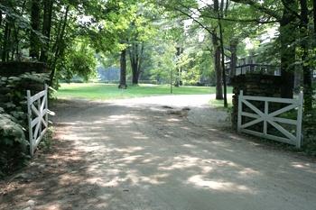 Camp Fernwood Iconic gates