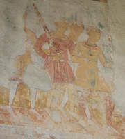 Frescos in San Severo Church, Bardolino, Italy