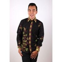 Kemeja Batik Trusmi Pria Hitam Manis Bambu Hijau Ungu Dasar Hitam  Jenis bahan : Katun Halus Harga: Rp. 235.000 Size: M,L,XL ----------------------------------------------------------------------------- Info Order, hubungi Team Marketing Online kami [Open Reseller & Dropship] --> Phone/SMS/Whatsapp/Line : Dian : 081564690003 | PIN BB: 57FA23DC Linda: 085864040786 | PIN BB: 57E93563 Kiki : 089665271943 | PIN BB: 79FCA1A9 Viny : 085724290097 | PIN BB: 56F40C1A ebatiktrusmi.com