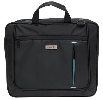 Form & function at an affordable price. Featuring simple, sophisticated styling, this Briefcase is made from the strongest and most durable materials. #sprout #mac #laptop #bag
