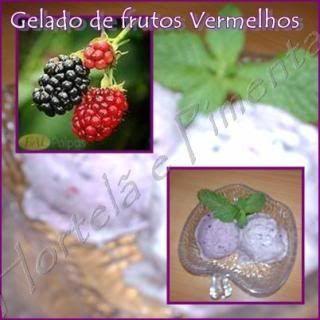 Gelado de frutos vermelhos - Receita Petitchef