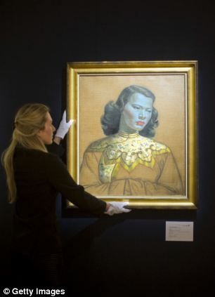 Chinese Girl is the most iconic work by Vladimir Tretchikoff purchased by Laurence Graff, diamond merchant.