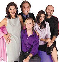 Just Shoot Me!  Starring Laura San Giacomo, George Segal, Wendie Malick, Enrico Colantoni and David Spade