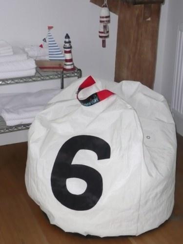 Sailcloth Buoy Beanbag No 6