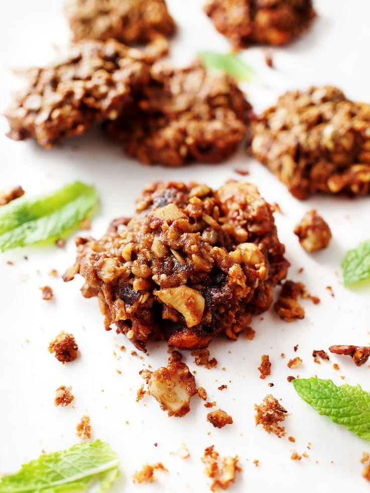 Banana oatmeal cookies #vegan #eatmeplease