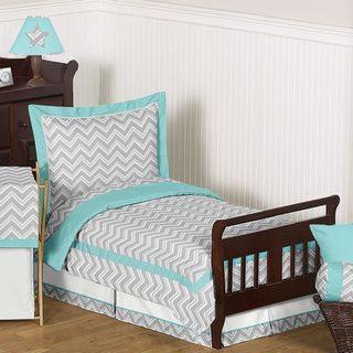 Sweet Jojo Designs Chevron Zigzag 5-piece Toddler Comforter Set @Ean Mason
