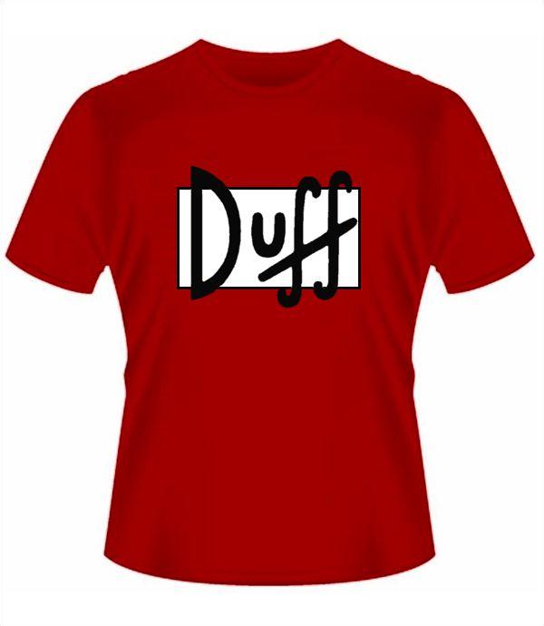 Camiseta Simpsons Duff em http://www.katanapresentes.com.br/57e06/camiseta-simpsons-duff #duff #simpsons #beer