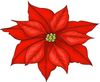 Beccy's Place: Poinsettia Freebie