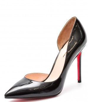 Классика всегда безупречна. А черные лаковые туфли на шпильке - тем более. Позвольте себе ощутить себя в роли роковой женщины, строгой бизнес-вумен или иконы стиля - с этими туфлями возможно все!