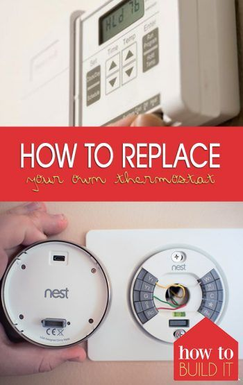 How To Replace A Thermostat >> How To Replace Your Own Thermostat For The Home Diy Home Decor