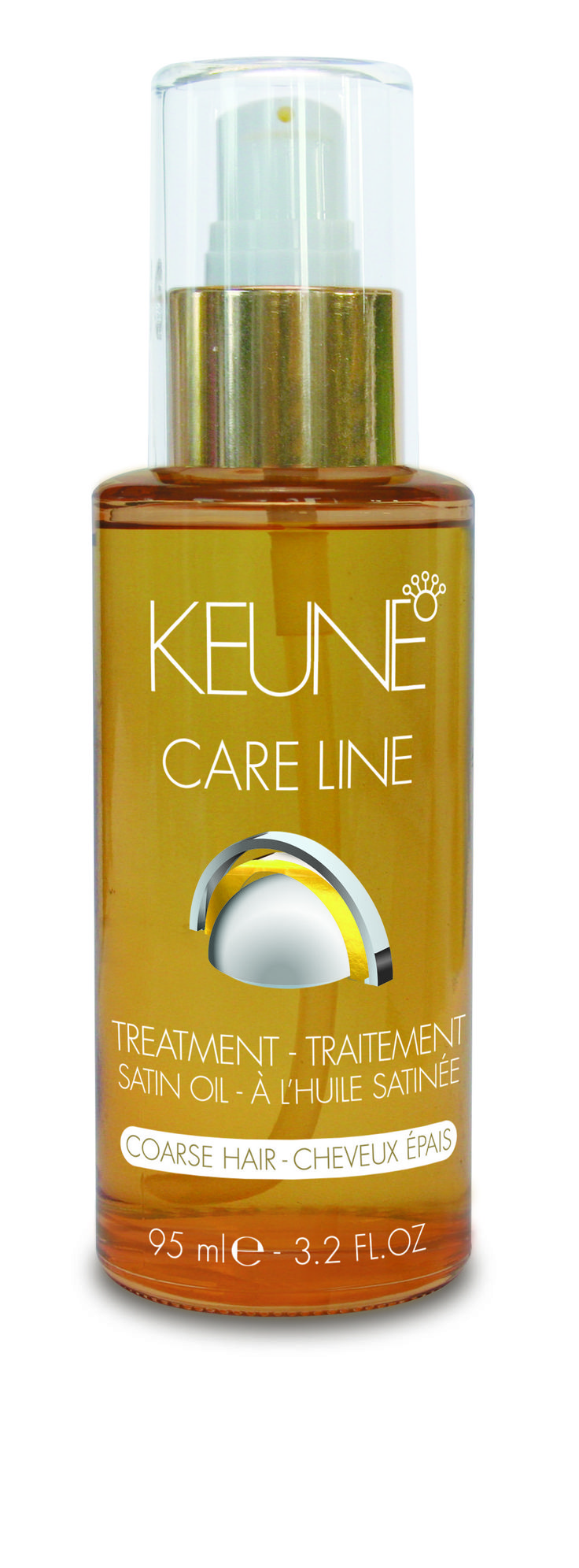 Care Line Satin Oil for coarse hair