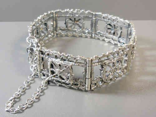 Vintage silver bracelet designed by Pentti Sarpaneva for Torun Hopea.