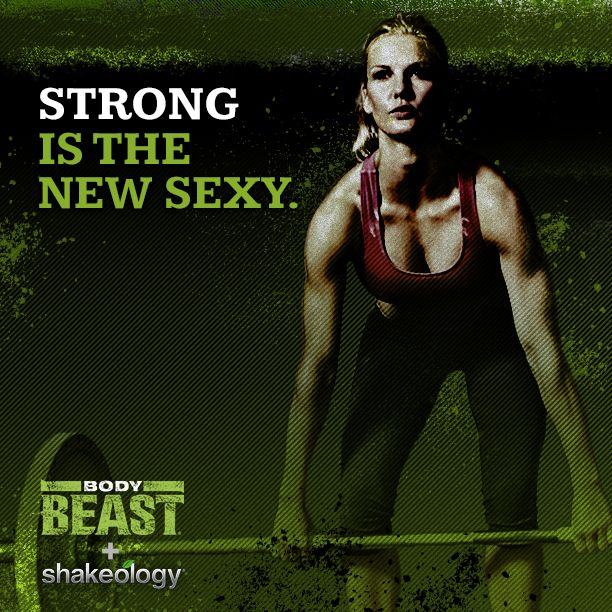 Ladies don't be afraid to build muscle. There are so many health benefits.  Body Beast on special for the month of May