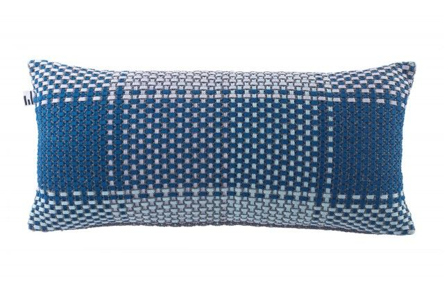Shoelaces seasons blue winter - cushion - New arrivals! #simonkeybertman #cushioncover #cushion #pillow #blue #nordicdesign #nordicdesigncollective #nordic #scandinavian #designers